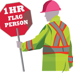 1-Hour Flag Person