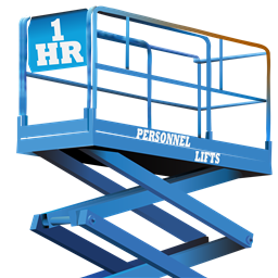 1-Hour Personnel Lifts: Aerial Lifts, Scissor Lifts and Mobile Scaffolds